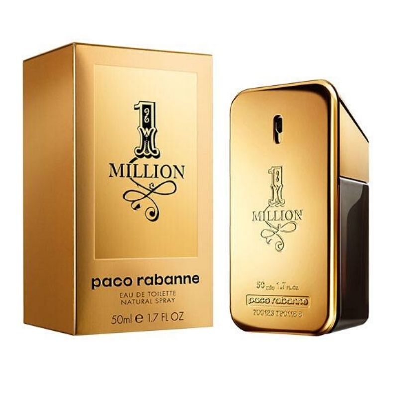 PERFUME 1 MILLION EDT 50ML - PACO RABANNE