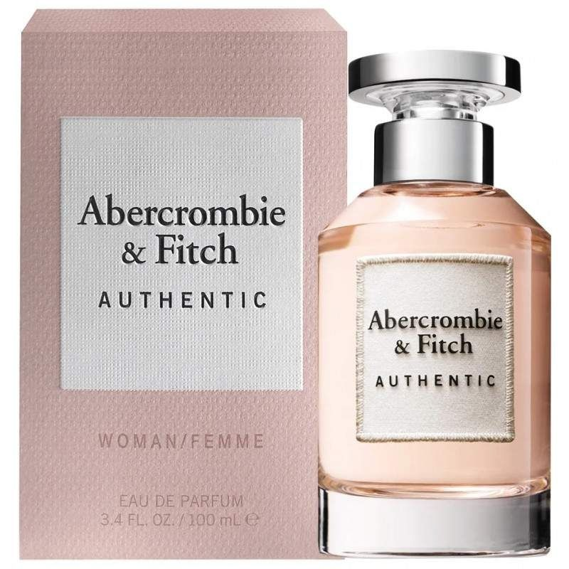 PERFUME AUTHENTIC EDP 100ML - ABERCROMBIE & FITCH