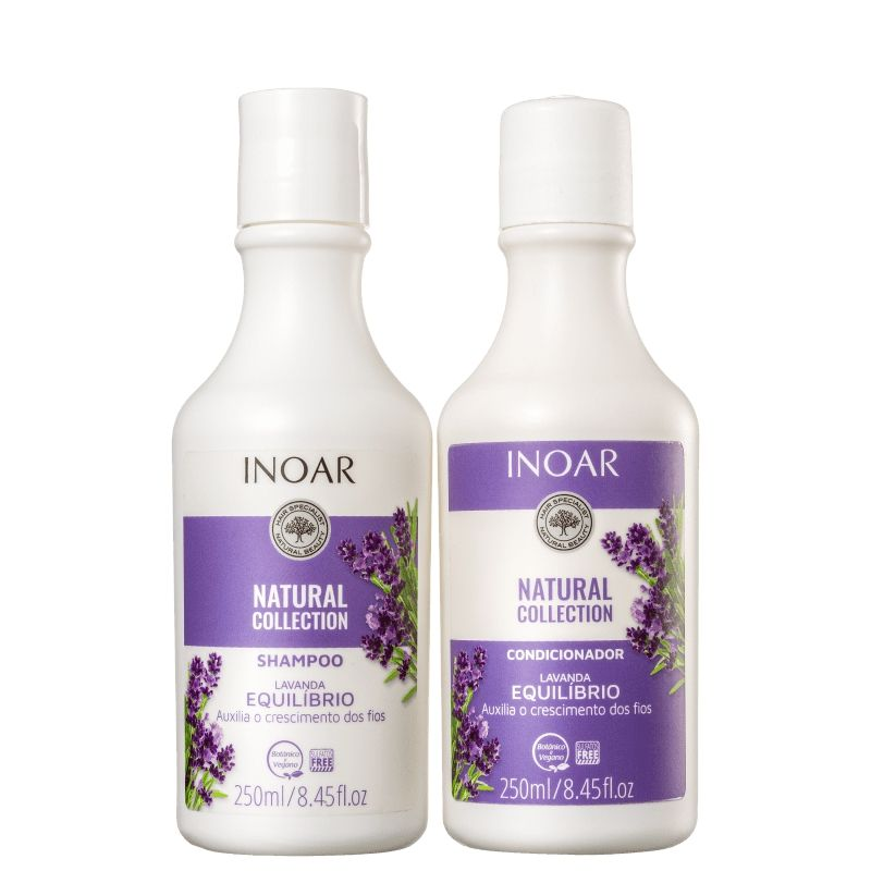 KIT NATURAL COLLECTION LAVANDA 250ML - INOAR