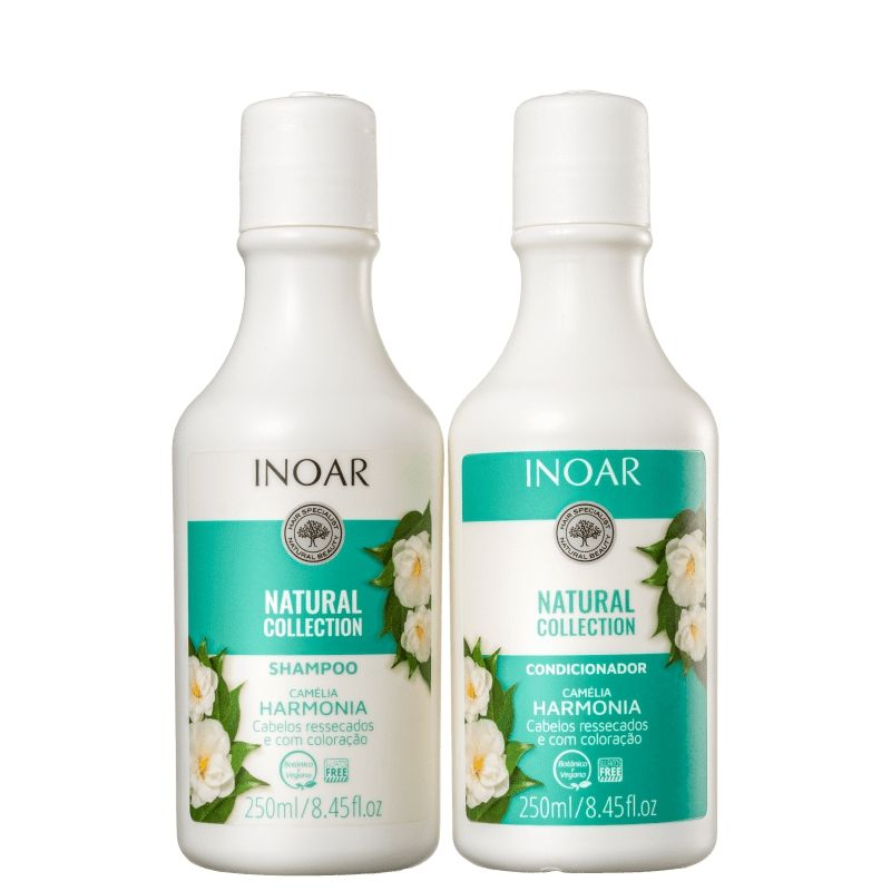 KIT NATURAL COLLECTION CAMÉLIA 250ML - INOAR