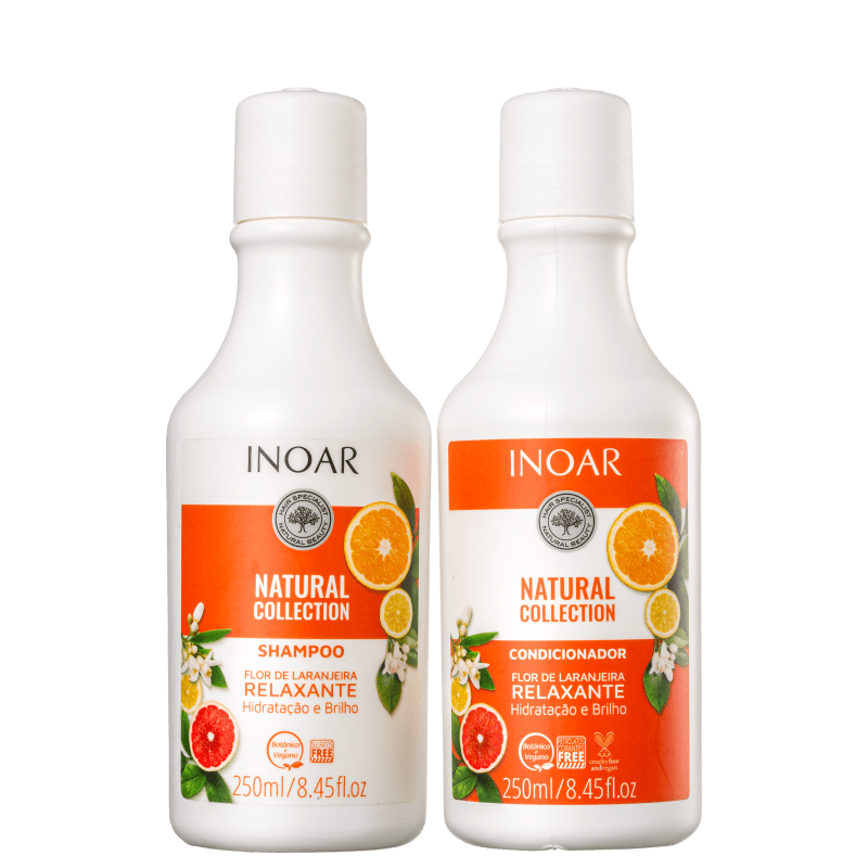 KIT NATURAL COLLECTION FLOR DE LARANJEIRA 250ML - INOAR