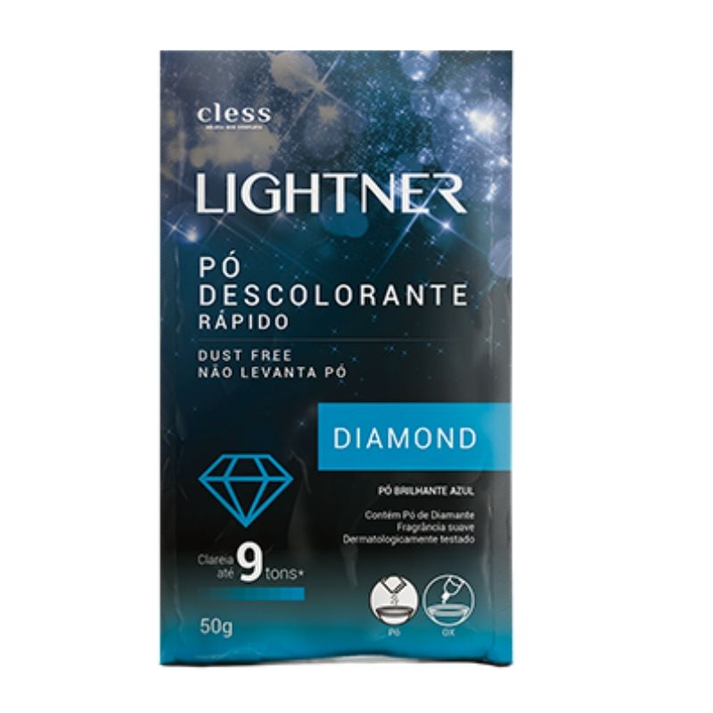 PÓ DESCOLORANTE LIGHTNER DIAMOND 50G - CLESS