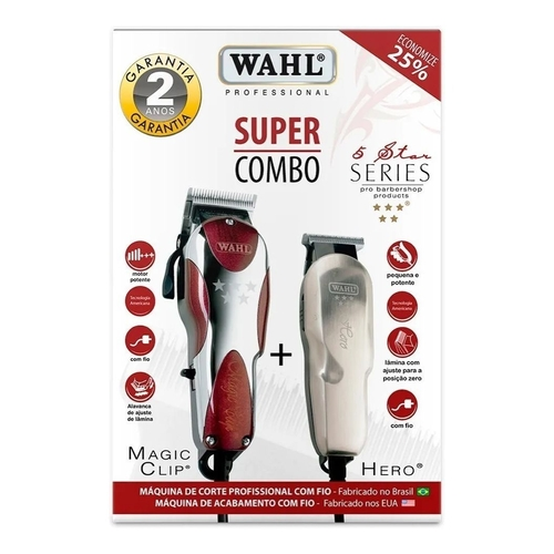 MÁQUINA DE CORTE CB MAGIC CLIP HERO - WAHL